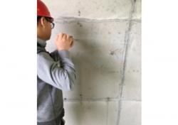 保利·春天大道二期32楼回弹法检测混凝土抗压强度试验