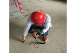 贵阳市2014年城市棚户区改造项目(二期)B1栋构件尺寸试验